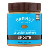 Barney Butter Almond Butter - Smooth - Case of 6 - 10 oz.