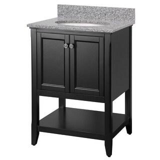 Buy Black Bathroom Vanities U0026 Vanity Cabinets Online At Overstock.com | Our  Best Bathroom Furniture Deals