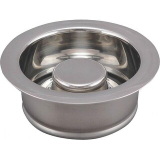 Plumb Pak PP5417 Garbage Disposal Flange & Stopper, Chrome