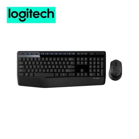 Logitech MK345 Wireless Mouse and Keyboard Combo for Computers Laptops Bundle