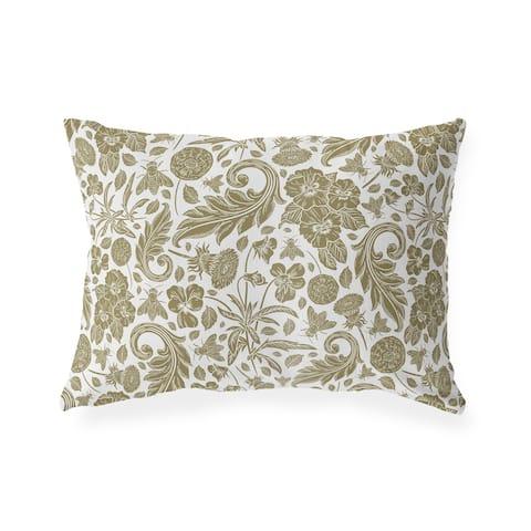DANICA BROWN Lumbar Pillow By Kavka Designs