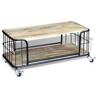 """vidaXL Coffee Table Solid Mango Wood 39.4""""x19.7""""x13.8"""""""