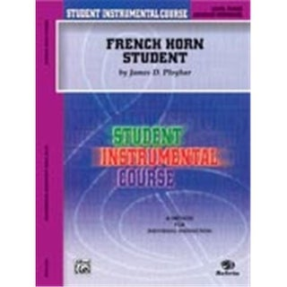 Student Instrumental Course: French Horn Student Level III - Music