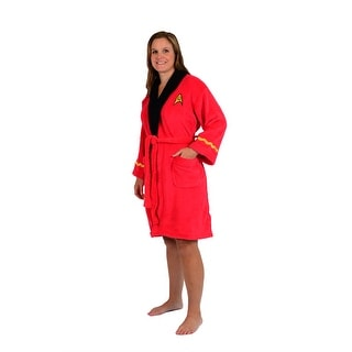 Star Trek Original Series Uhura Fleece Adult Bathrobe