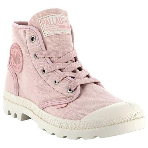 Palladium Women's Pampa Hi Sneaker Peach Whip/Marshmallow