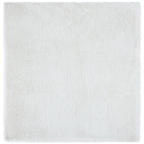 Safavieh Handmade South Beach Leonella Shag Solid Polyester Rug