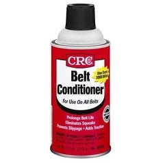 CRC 05350 Belt Conditioner, 7.5 Ounce