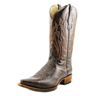 Circle G by Corral L5092 Men 2E Pointed Toe Leather Brown Western Boot