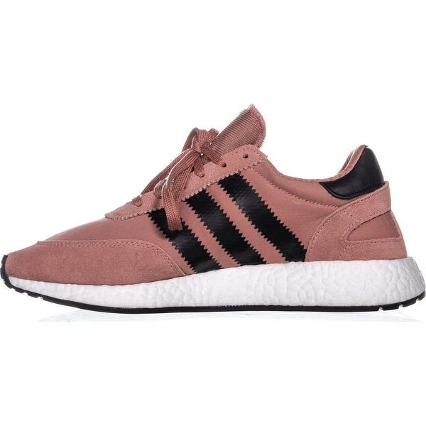 outlet store sale fashion style pretty cool Shop adidas Iniki Runner Sneakers , Raw Pink/Core Black ...