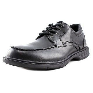 Florsheim NDNS Moc Ox Men Moc Toe Leather Black Oxford