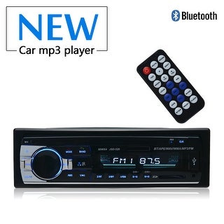 APGtek Car Stereo with Bluetooth,In-Dash Single Din Car Radio, Car MP3 Player USB/SD/AUX/Wireless Remote Control