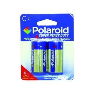 Polaroid Heavy Duty 2 Pack C Battery