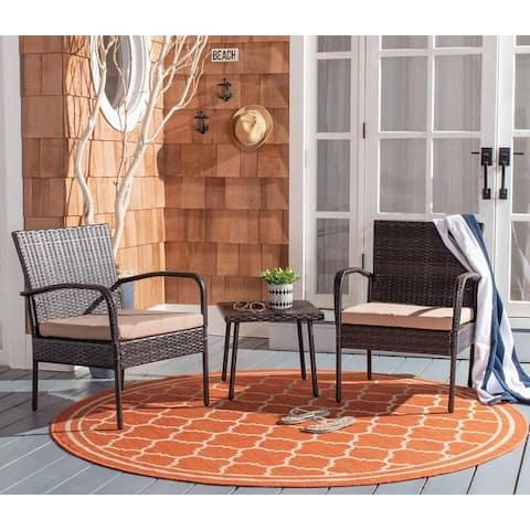 Safavieh Outdoor Living Moore 3 Pc Lounge Set