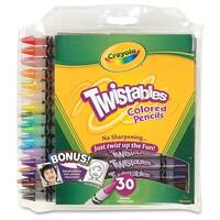 Crayola Twistables Colored Pencils - 30 Pack