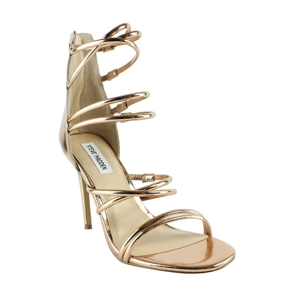 ea49404fd11 Steve Madden Womens Tito01s1 RoseGold Sandals Size 8.5