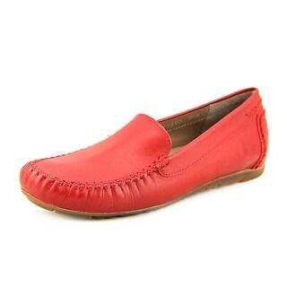 Rose Petals by Walking Cradles Eagle Women N/S Moc Toe Leather Loafer