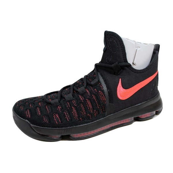 Nike Men's Zoom KD 9 Premium Black/Hot Punch Aunt Pearl 881796-060
