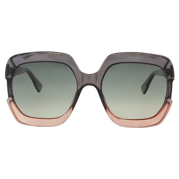 06775b2ff6 Shop Christian Dior DIORGAIA 07HH Grey Pink Square Sunglasses - 58 ...