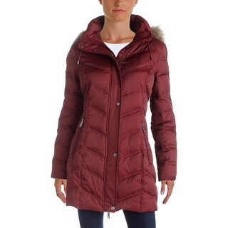 Kenneth Cole Womens Parka Coat Winter Down