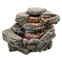 Design Toscano  Waterfall Creek Cascading Tabletop Fountain