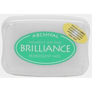Brilliance Craft Ink Pad Large Pearl Jade
