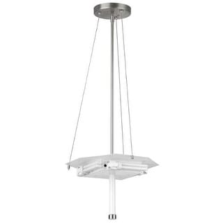 Forecast Lighting F43036U A La Carte 4 Light Pendant from the Taylor Collection - Base Only - Satin Nickel