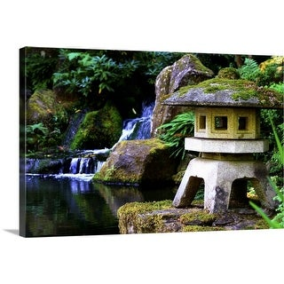 """Portland Japanese Garden"" Canvas Wall Art"