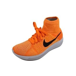 newest 1f808 bd77e Nike Women s Lunarepic Flyknit Laser Orange Black-Bright Citrus-Total Orange  nan 818677
