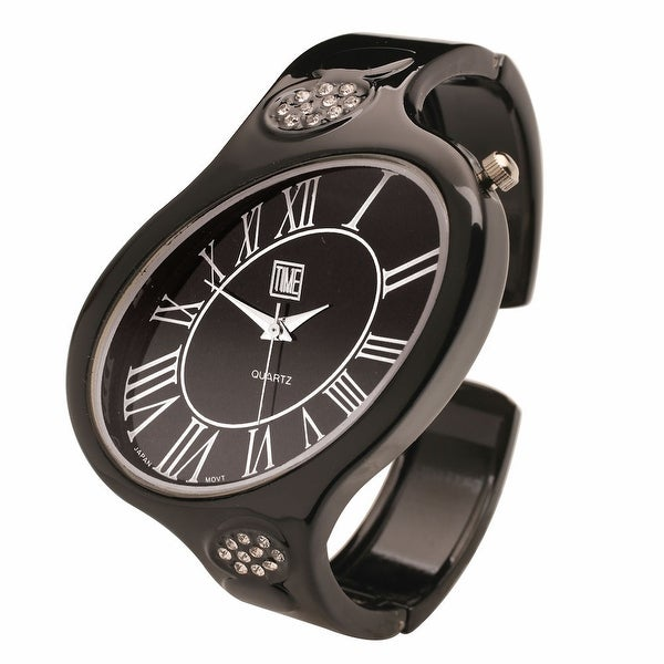 Women's Windswept Embellished Cuff Watch