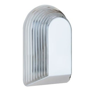 Costaluz 3062 1 Light Incandescent Outdoor Wall Sconce with Clear Glass Shade