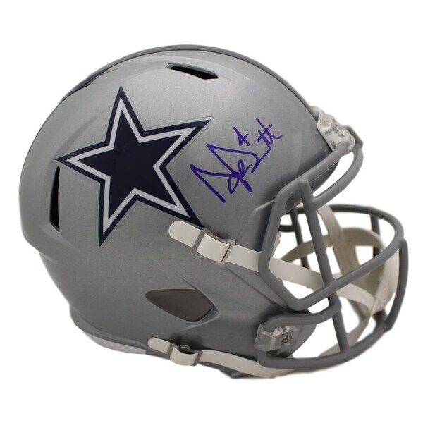 e9cfa19ff Shop Dak Prescott Autographed Dallas Cowboys Full Size Speed Replica Helmet  JSA - Free Shipping Today - Overstock - 22390299