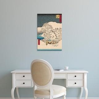 Easy Art Prints Unknown's 'Iconic Japan IX' Premium Canvas Art