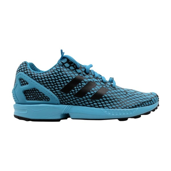 best website fbecb ccfbf Shop Adidas ZX Flux Techfit Core Black/Blanch Sea Blue ...