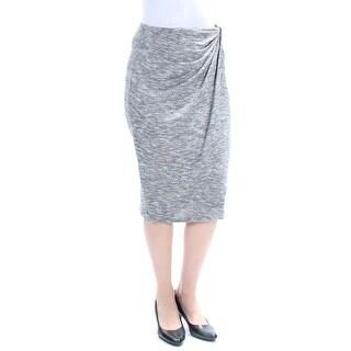 Womens Gray Wear To Work Skirt Size 2XS