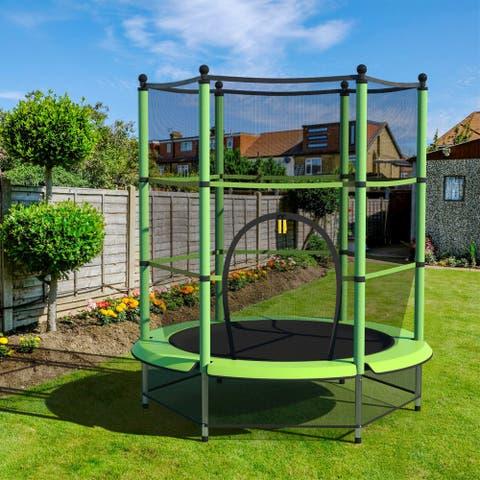 """55"""" Kids Trampoline for Indoor/Outdoor Exercise"""