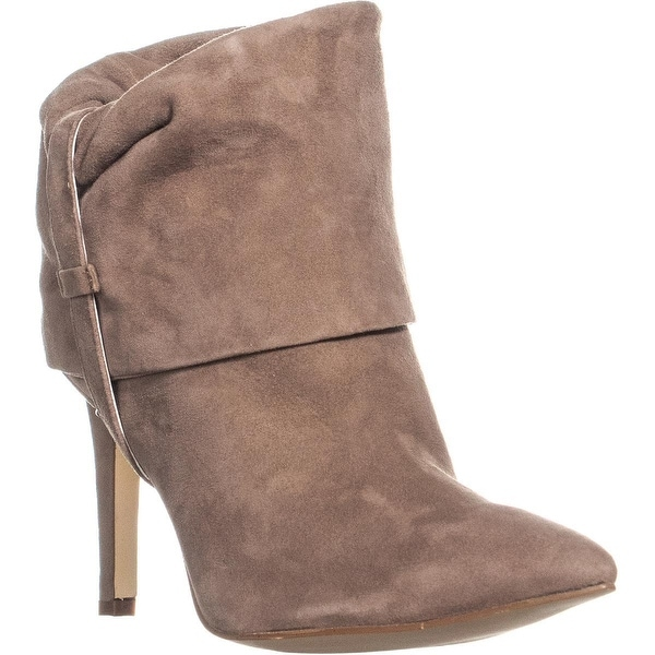 89a05ea7d40 Shop Clavin Klein Bethany Pointed Toe Pull On Ankle Boots, Mink - 7 ...