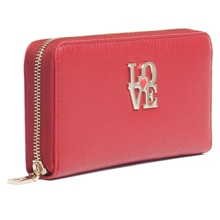 Moschino JC5508 0500 Red Zip Around Wallet