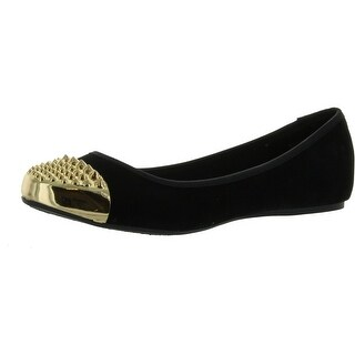 Bamboo Women Mirina-02 Flats-Shoes - Black (2 options available)
