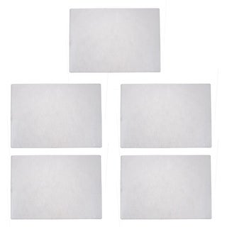 Soft Clear Plastic Paper Document Card Case Cover Sleeves 5pcs