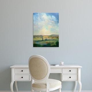Easy Art Prints William McCarthy's 'First Turn' Premium Canvas Art