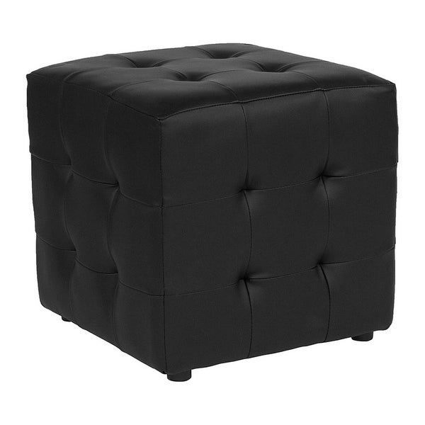 Shop Offex Avendale Tufted Upholstered Ottoman Pouf In