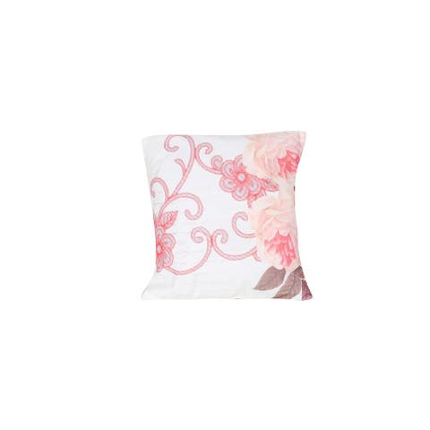 Arzezum Pillow Cover for Home Decor, Set of 2, Pink Flowers