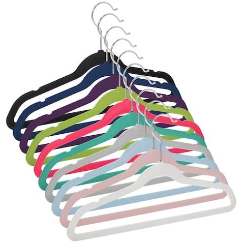"""50 Velvet 14"""" Kid's Hangers by Casafield"""