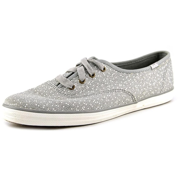 Keds Ch Seltzer Women Round Toe Canvas Gray Sneakers
