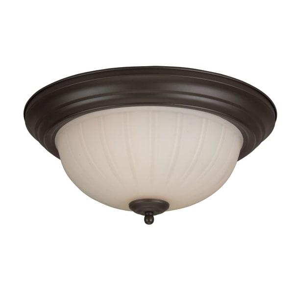 Craftmade X113 2 Light Flush Mount Ceiling Fixture