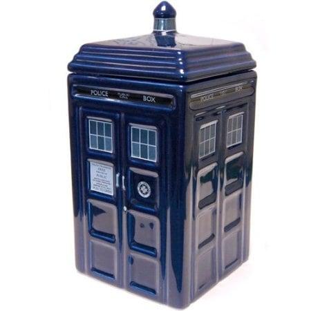 Doctor Who Tardis Ceramic Cookie Jar - Multi