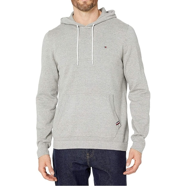 Tommy Hilfiger Mens Hoodie Pullover Regular Fit Solid. Opens flyout.