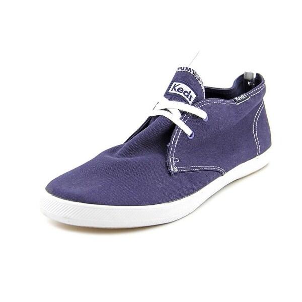 5f58e2199399d Shop Keds Champion Chukka Men Round Toe Canvas Blue Fashion Sneakers ...