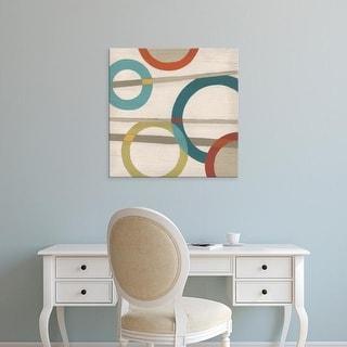 Easy Art Prints June Erica Vess's 'Circular Logic III' Premium Canvas Art