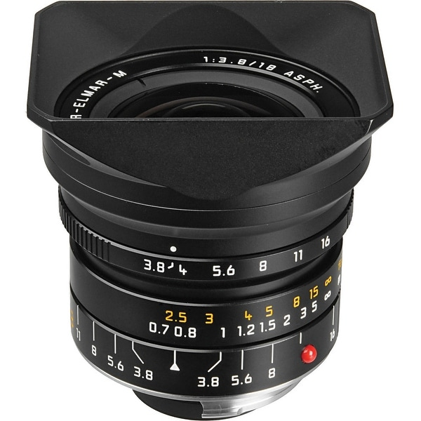 Leica Super-Elmar-M 18mm f/3.8 ASPH. Lens (Certified Refurbished)